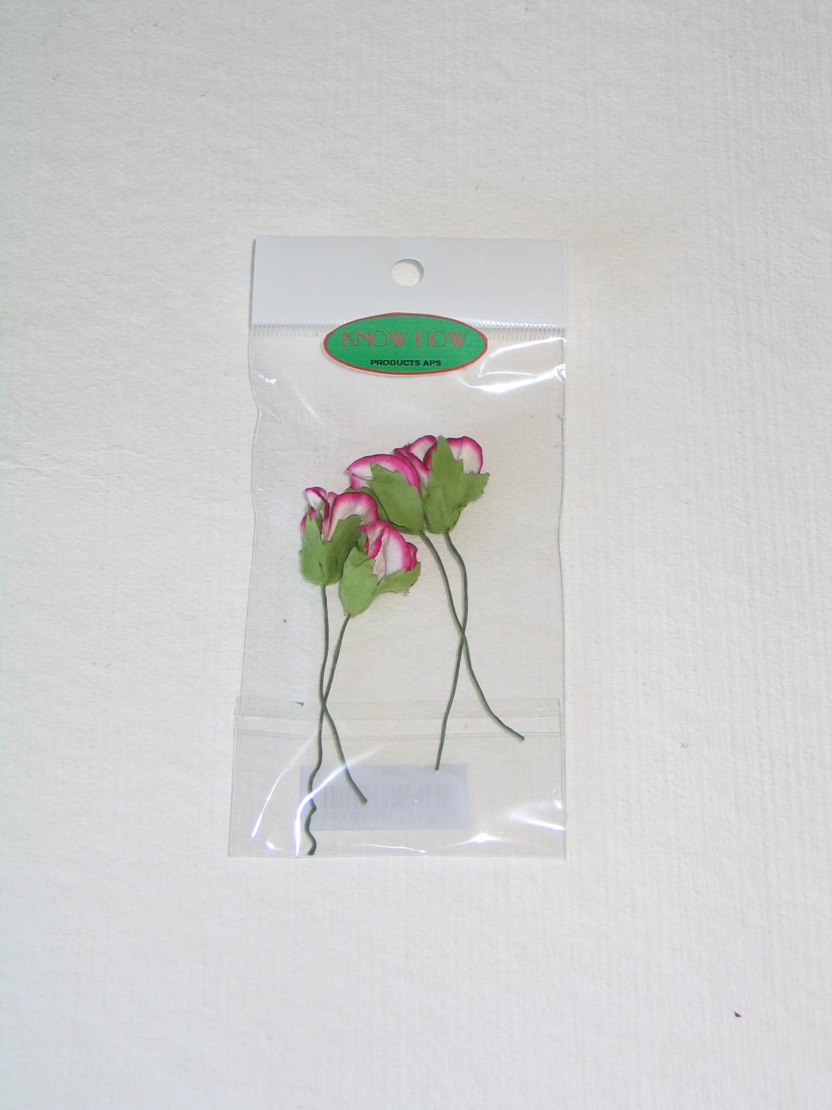 Blomster Til Dekoration Pink Hvid Bogitoys